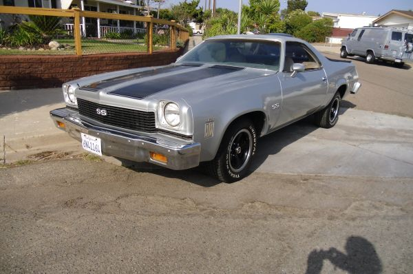 1973 454 El Camino x2 and a 350 3nf3gd11