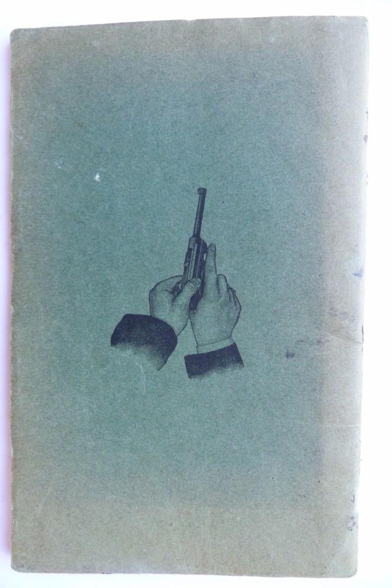 Les manuels pour le pistolet Parabellum modèle 1900, de la DWM. Manuel11