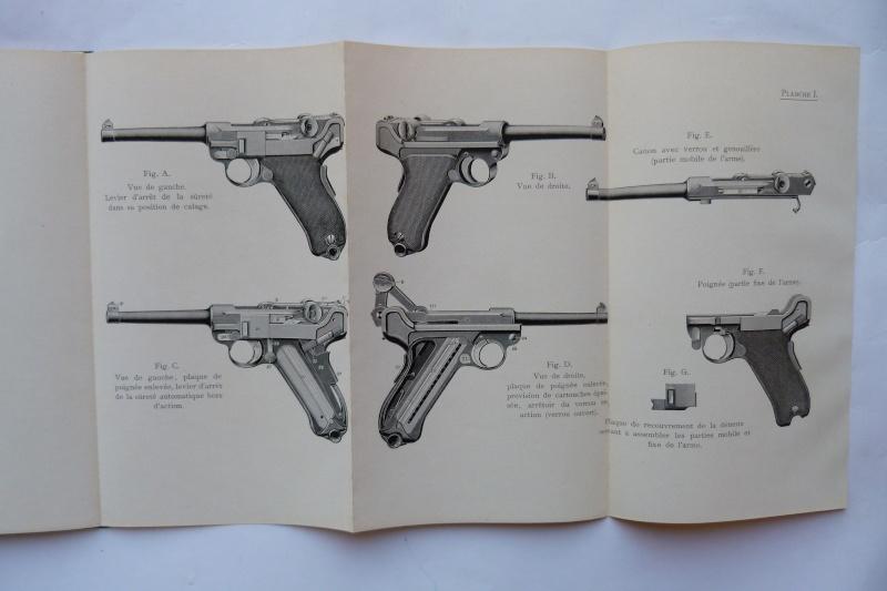 Les manuels pour le pistolet Parabellum modèle 1900, de la DWM. Manuel27