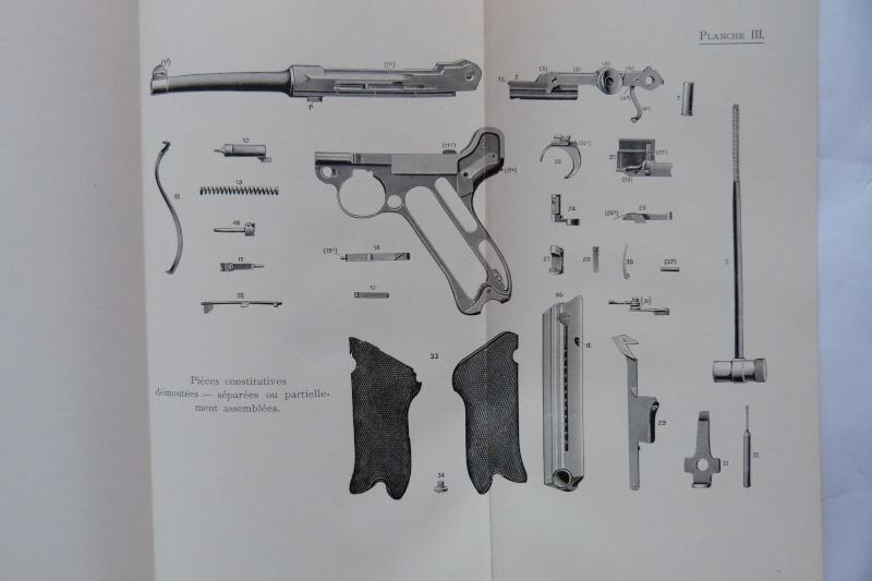Les manuels pour le pistolet Parabellum modèle 1900, de la DWM. Manuel28