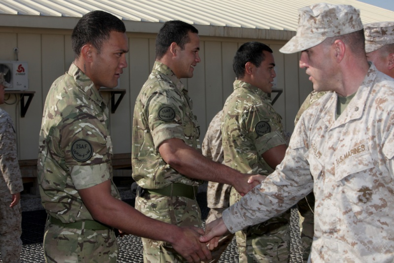 Tongans in Afghanistan attached to UK forces 53929310
