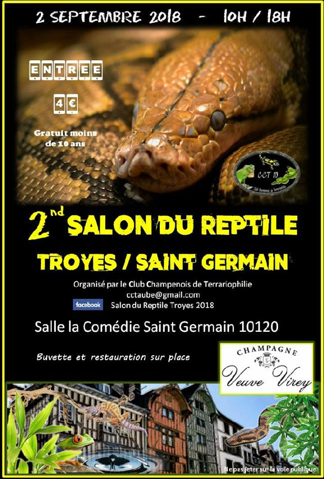 2eme Bourse au Reptiles TROYES  Bourse11