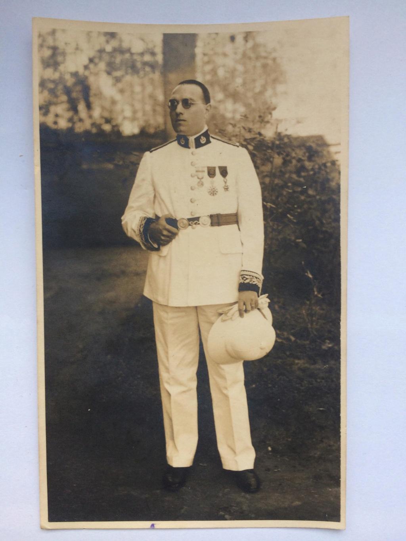 Superbe photo d'un administrateur des colonies de Madagascar - PHILPENS - OCTOBRE 2  VENDUE 1812