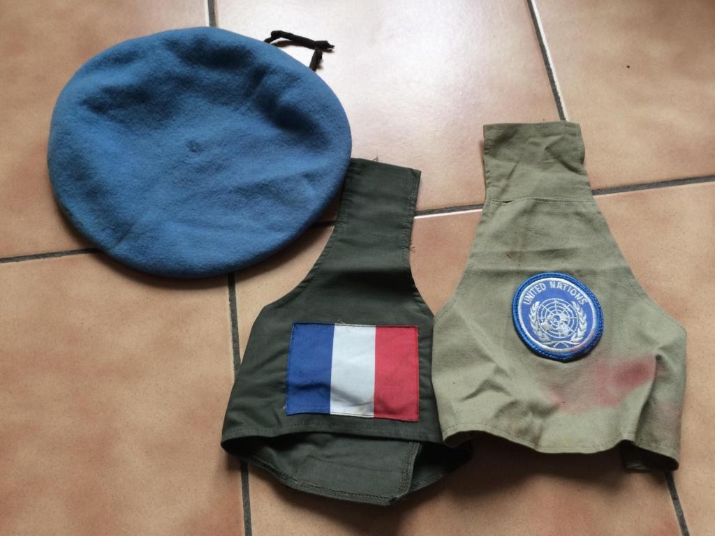 Lot ONU béret + 2 brassards - PHILPENS - MARS - 2 [A CLOTURER] 53662310