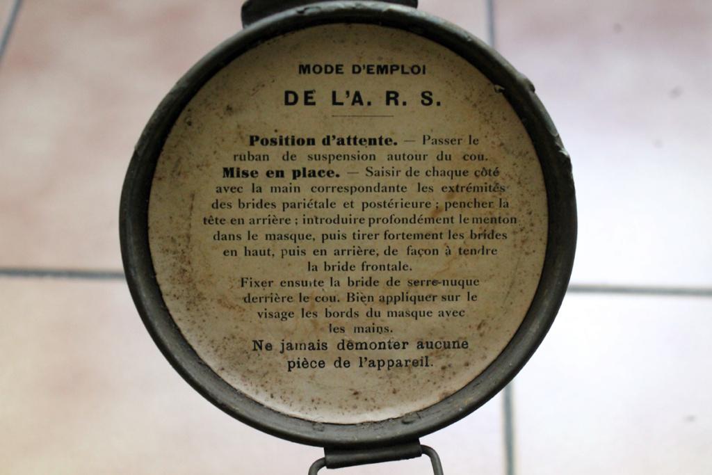 Masque anti gaz ARS 17 -ALPINS-SEPT2 [A CLOTURER] Img_7949