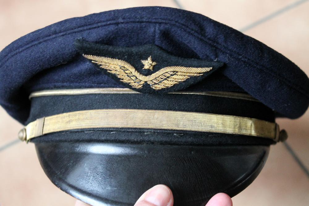 Lot nominatif casquette + insignes + photos Armée de l'Air / Défense Passive ESC - MAR 3 [A CLOTURER] Img_9010