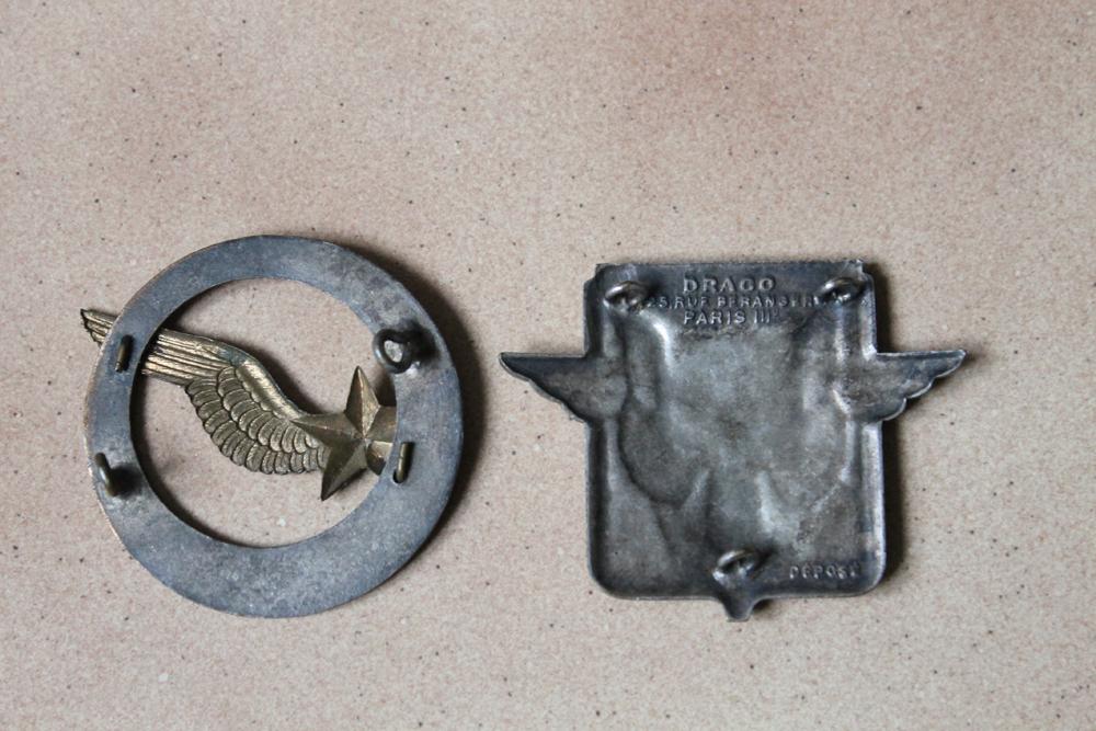 Lot nominatif casquette + insignes + photos Armée de l'Air / Défense Passive ESC - MAR 3 [A CLOTURER] Img_9012