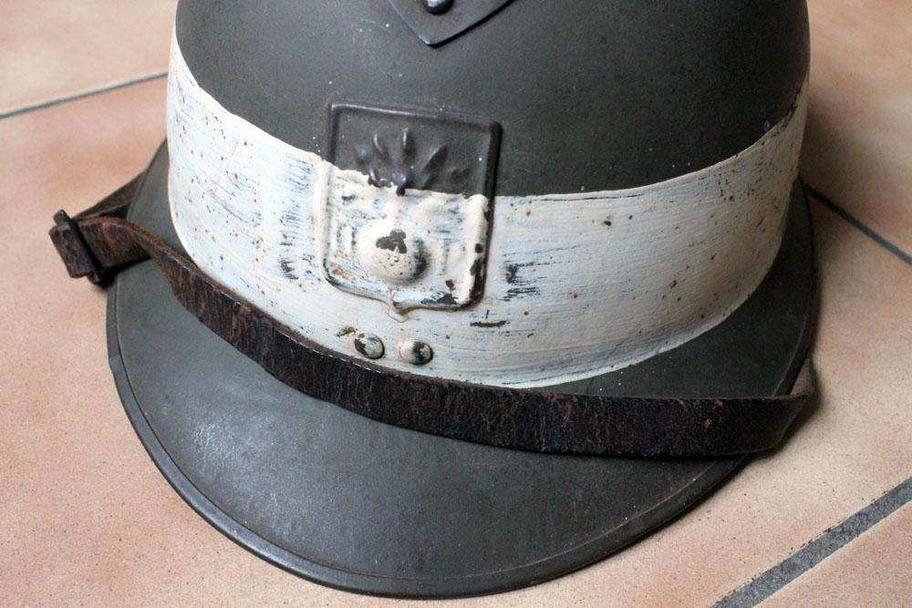 Très beau casque DP grande taille avec brassard (trouvés ensemble) ESC - MAI 2 [A CLOTURER] Img_9139