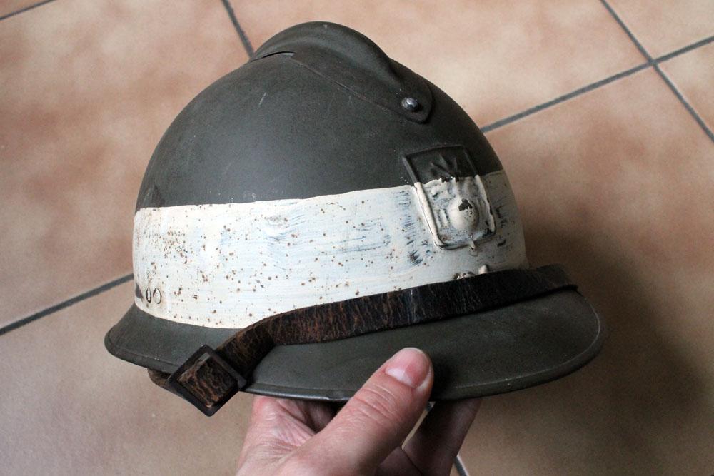 Très beau casque DP grande taille avec brassard (trouvés ensemble) ESC - MAI 2 [A CLOTURER] Img_9144
