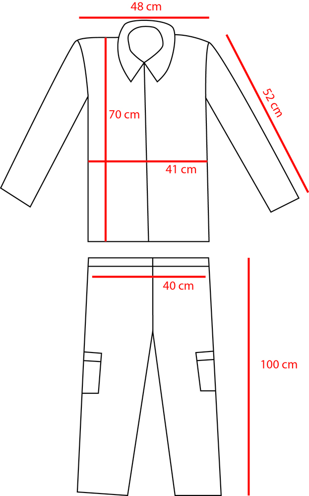 Tenue TTA 47 (veste + pantalon + brodequins + triangle + casque) ESC - NOV 3 [A CLOTURER] Tta11