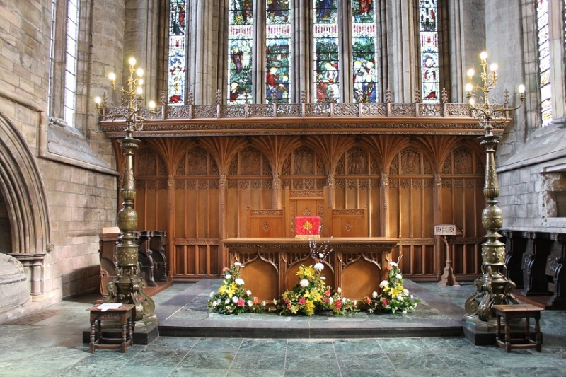 Dunblane Cathedral. Altar10