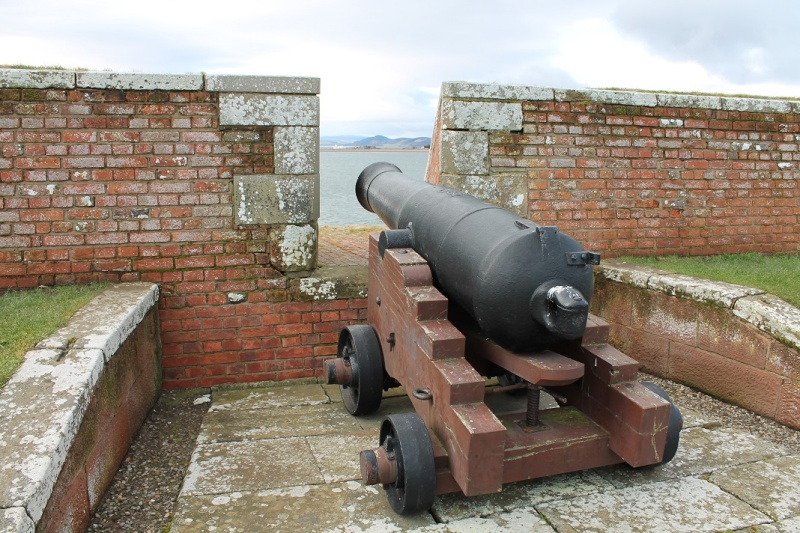 Fort George at Ardersier point near Inverness. Fg110