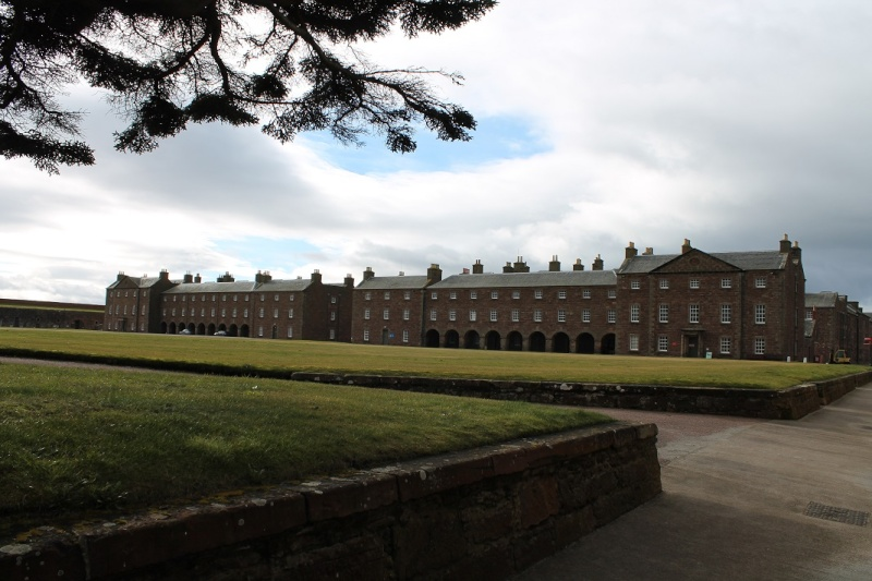 Fort George at Ardersier point near Inverness. Fg310
