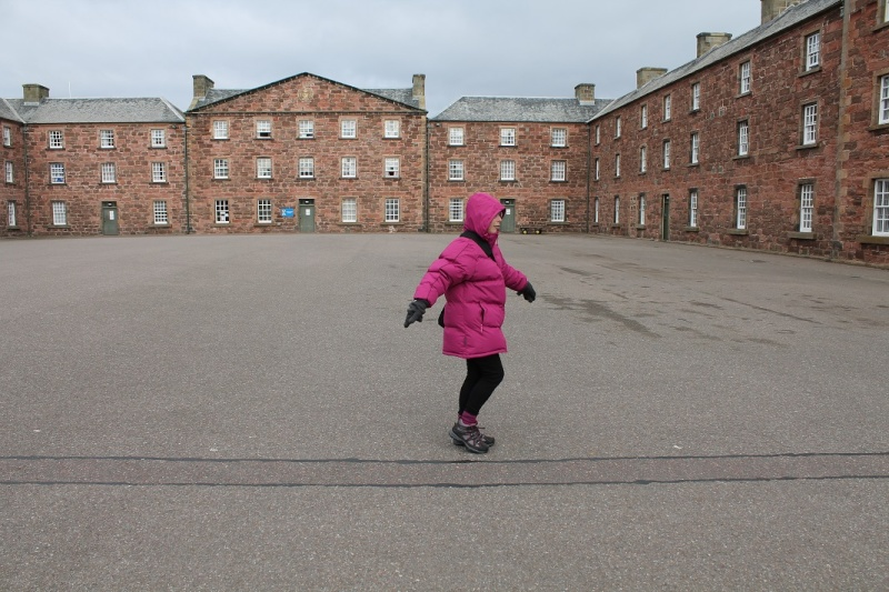 Fort George at Ardersier point near Inverness. Fg410