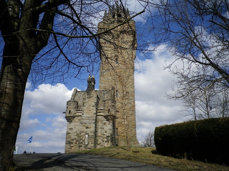 Out and about in Stirling. Wallac10