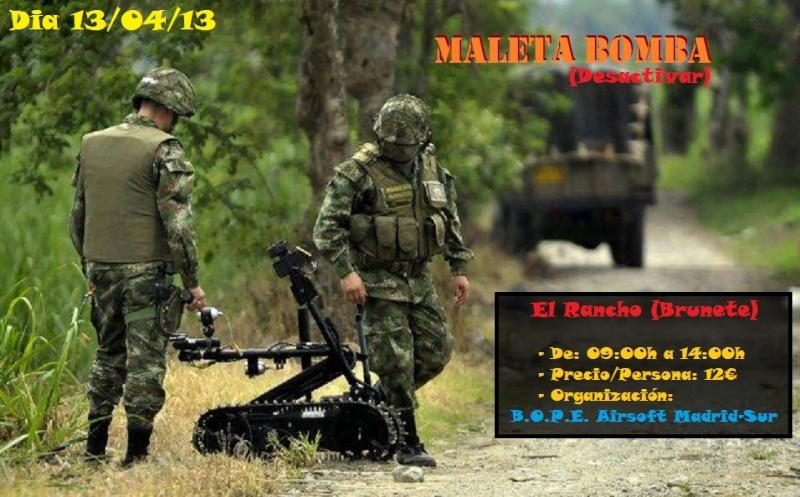 """Partida 13/04/13 Maleta Bomba en """"El Rancho"""" (Brunete) Partid11"""