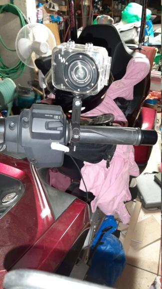 Pince support caméra sport  20200111