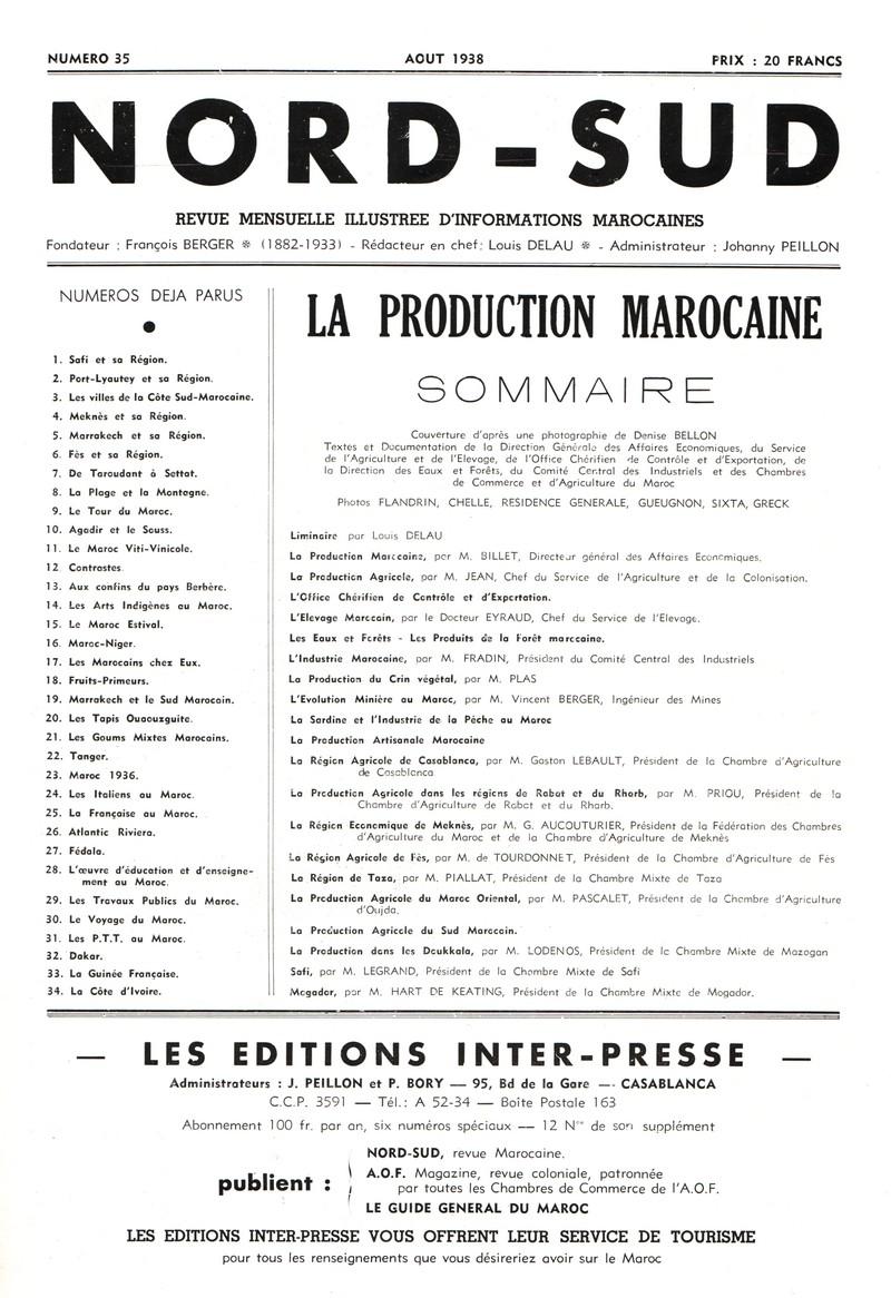 LA PRODUCTION MAROCAINE Couv_013
