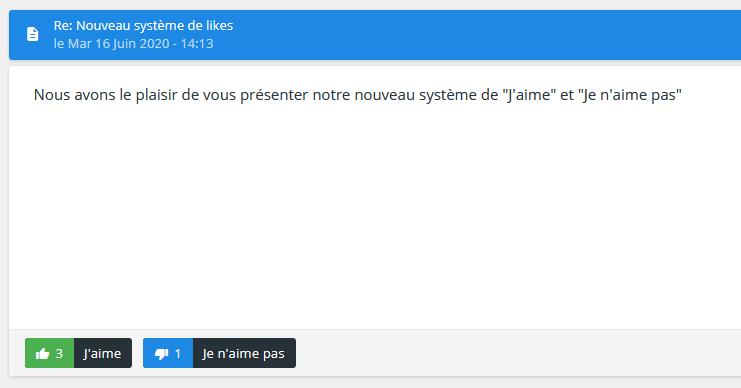 Sosirea noului sistem Like și Dislike pe Forumgratuit Like_a10