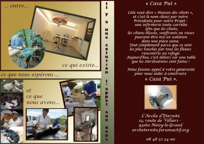 """APPEL AUX DONS POUR CONSTRUIRE LA """"CASA PUI"""" UNE INFIRMERIE AU REFUGE DE LENUTA - Page 3 Affich10"""