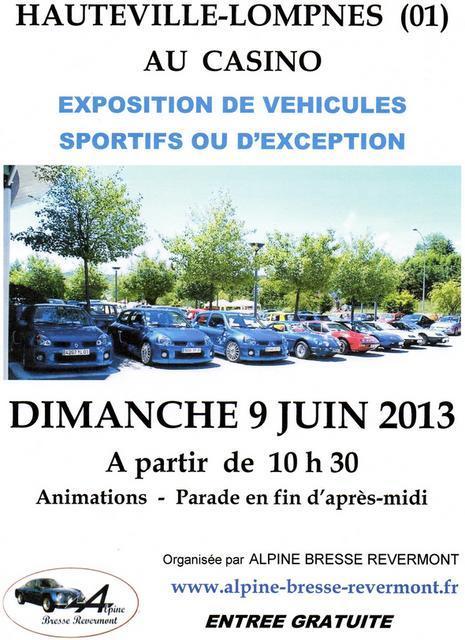 Expo au CASINO d' HAUTEVILLE Affich12