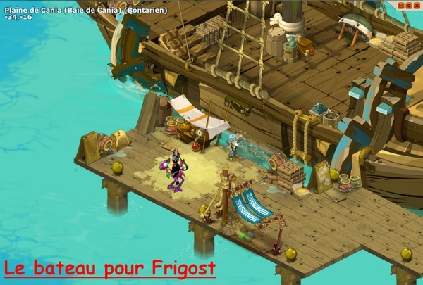 Guide touristique de Frigost Bateau11