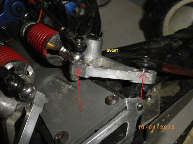 Push rod/biellettes d'amortisseurs TRX 5318x - Spacer ? 174