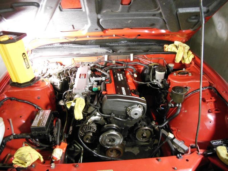 Ma Nissan RS13 Zenki ! 1111