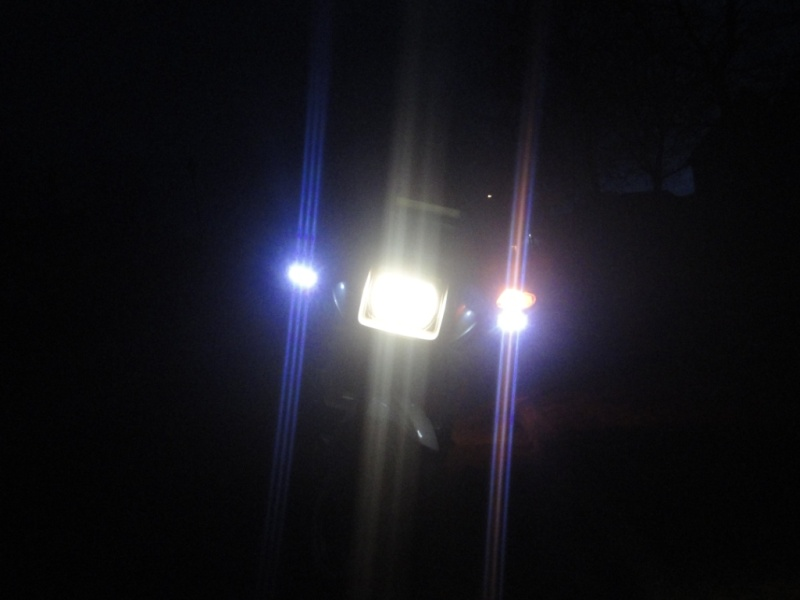 Mirror mounted LEDs 00110