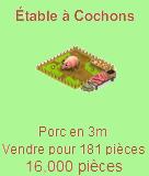 Étable à cochons Coch110