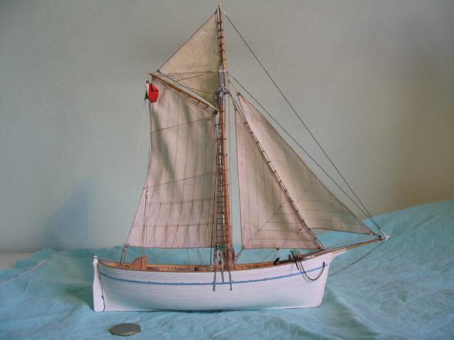 gozzo - modelli dal libro Vele della costa occidentale  ENRICO PILANI 100_0012