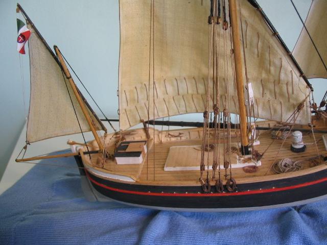 gozzo - modelli dal libro Vele della costa occidentale  ENRICO PILANI 100_0019