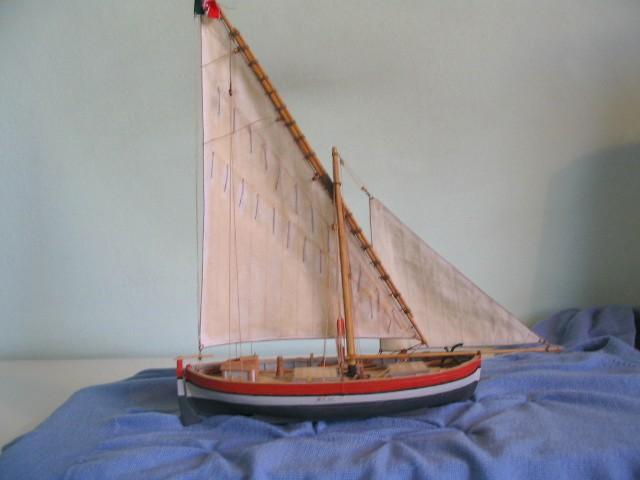 gozzo - modelli dal libro Vele della costa occidentale  ENRICO PILANI 100_0021