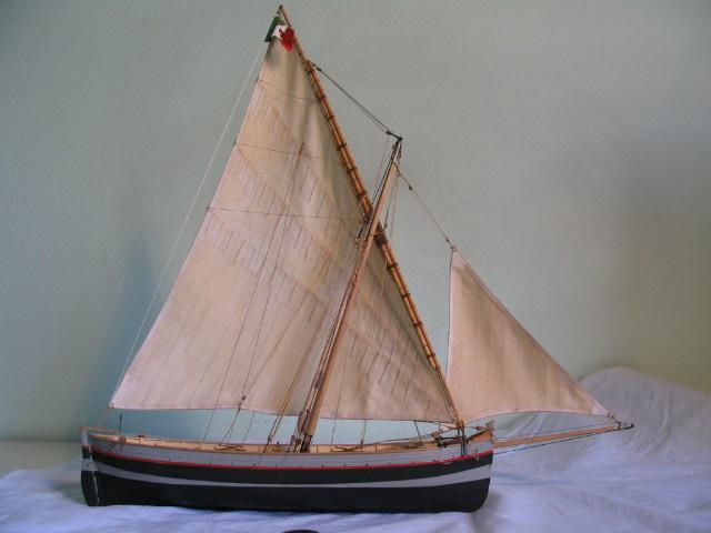 gozzo - modelli dal libro Vele della costa occidentale  ENRICO PILANI Bilanc10