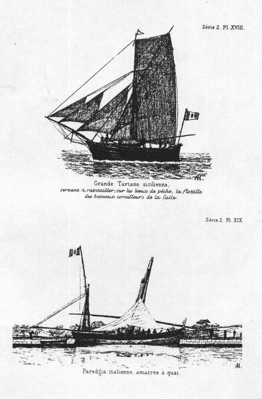 gozzo - modelli dal libro Vele della costa occidentale  ENRICO PILANI - Pagina 6 Paregg10