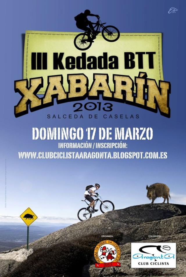 <Kedada> III Kedada BTT Festa Do Xabarin (Salceda 17/03/´13) Cartel10