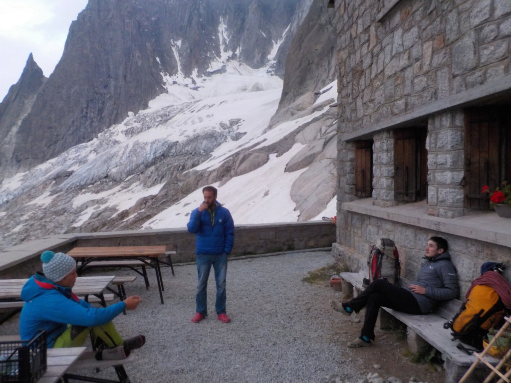 5 jours de pur délire à Chamonix 1810