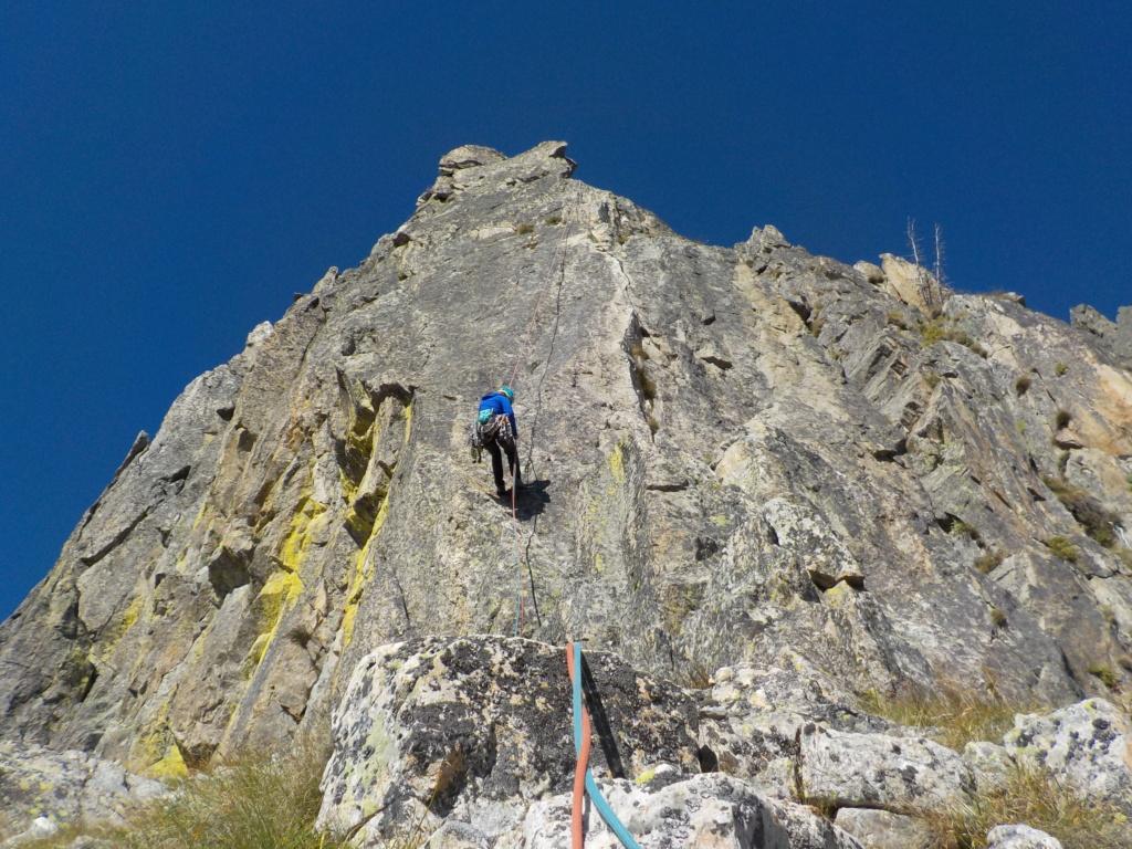 Répétition d'une nouvelle voie au Cayre des Erps 2015