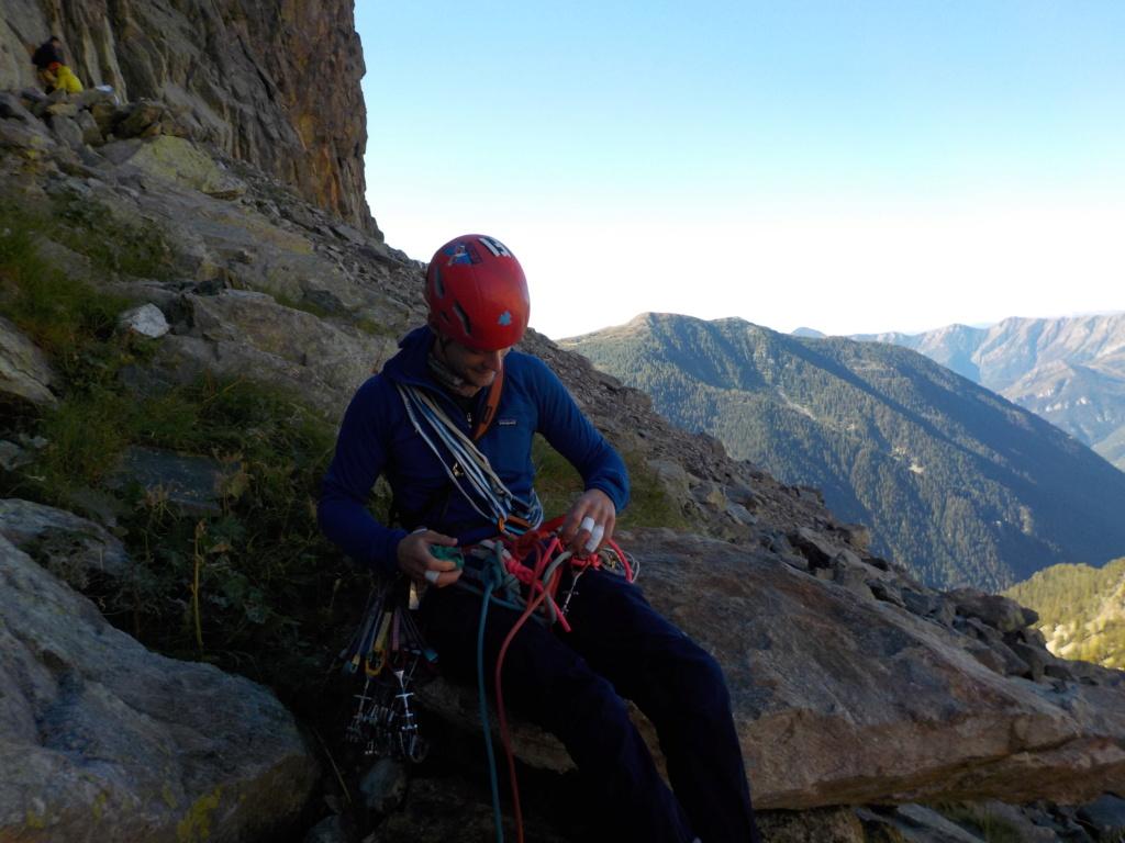 Répétition d'une nouvelle voie au Cayre des Erps 315