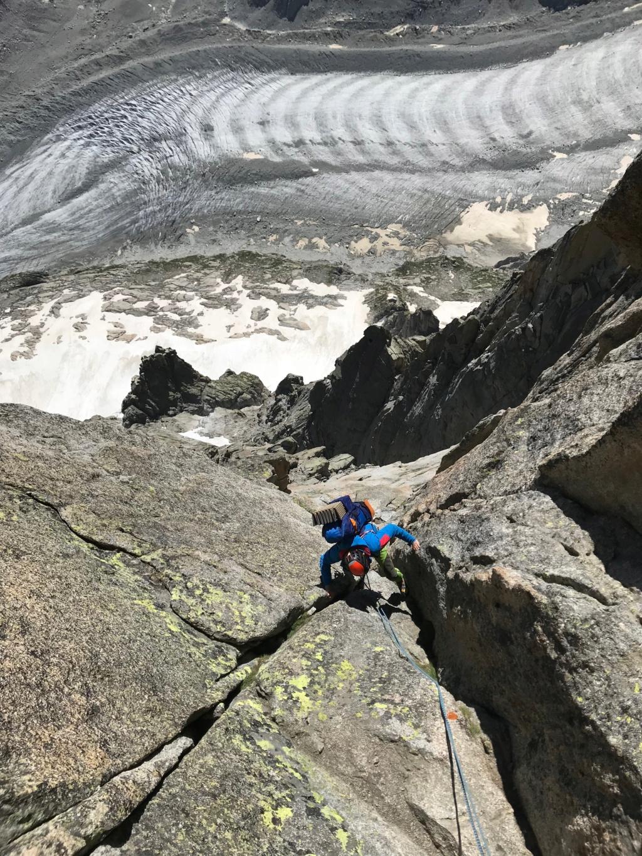 5 jours de pur délire à Chamonix 4010
