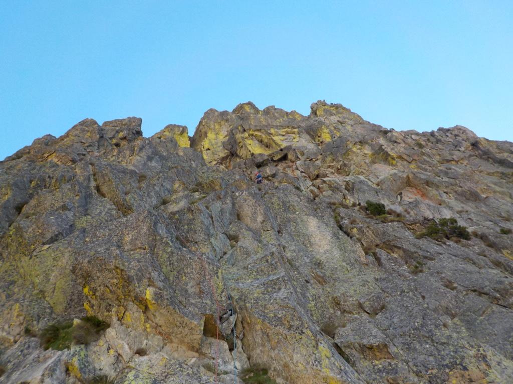 Répétition d'une nouvelle voie au Cayre des Erps 515