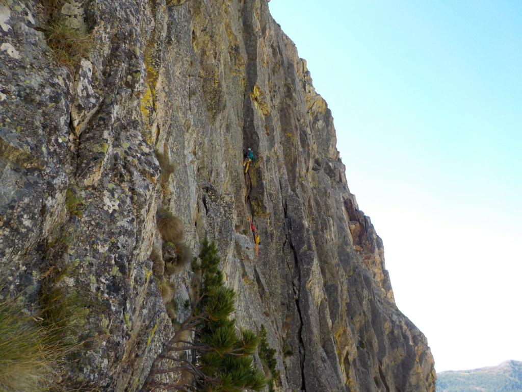 Répétition d'une nouvelle voie au Cayre des Erps Dscn9910