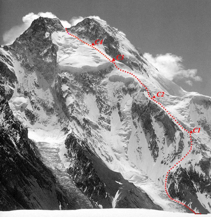 Prima invernale al Broad Peak  1640710