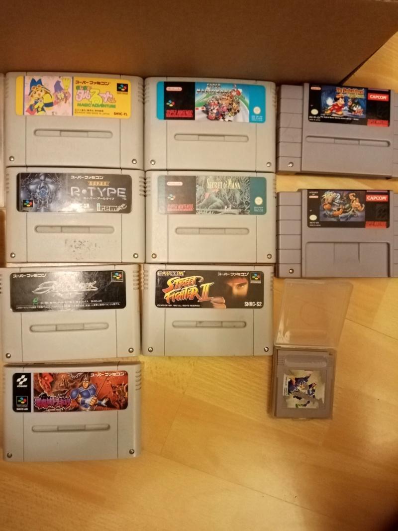 [ESTIMATION] NINTENDO Console et jeux Gameboy,SNES,Wii 210