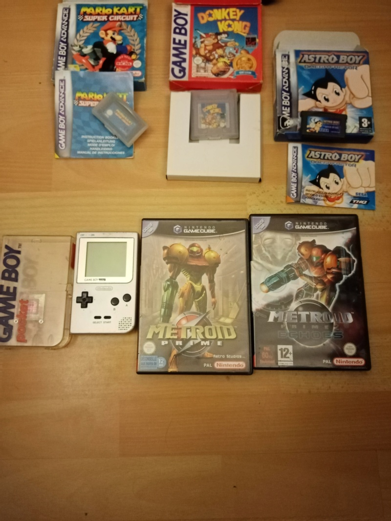 [ VENTE ]   Jeux Gamecube - Gameboy Donkey Kong SClassic -Gameboy advance ASTRO BOY ,Mario KART -Console Gameboy Pocket Vente_10