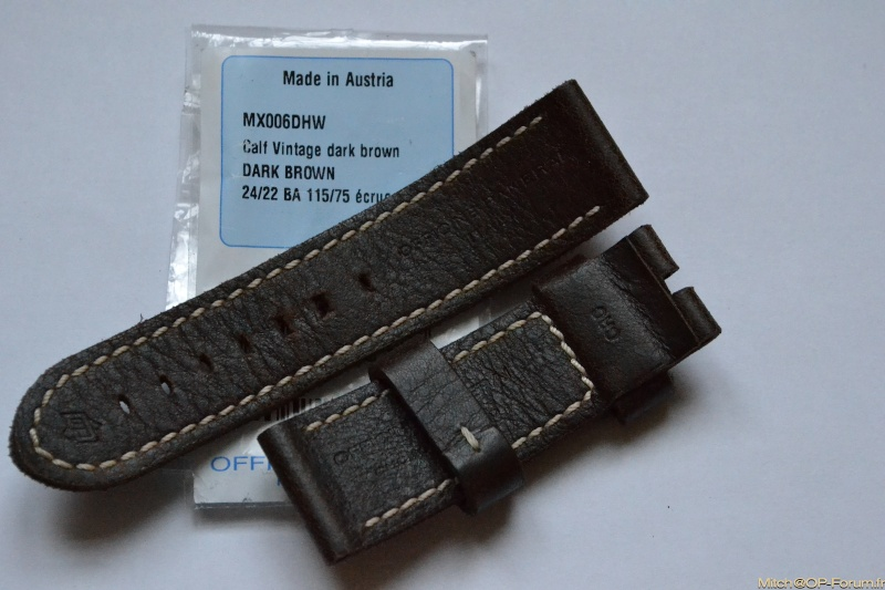 (VENDU) Panerai OEM Dark Brown 24/22- Grain exceptionnel Dsc_0019