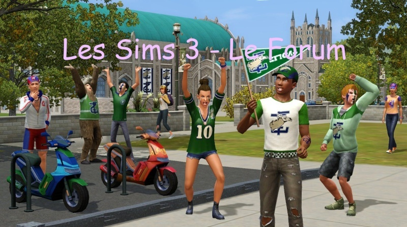 Les Sims 3-Forum