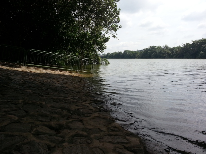 As per Boss request recce for playing boat location in Punggol/Sengkang 20130214