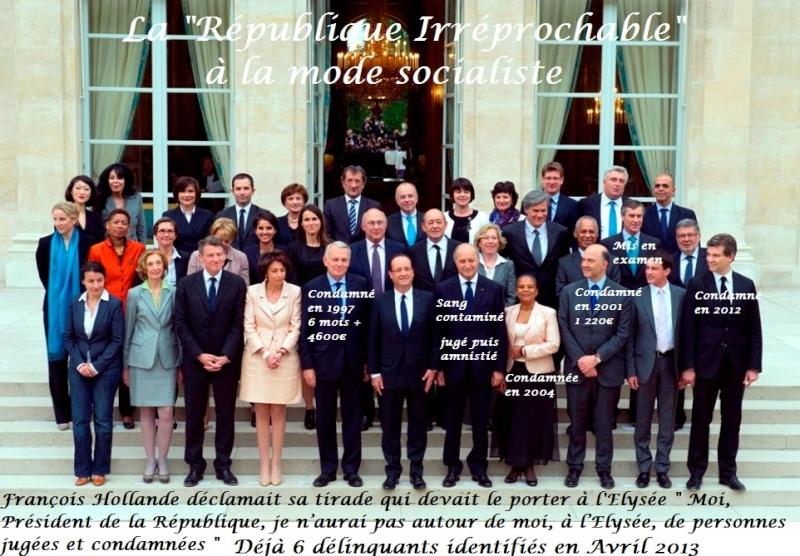 Listes des 57 CONDAMNÉS  toujours EN POSTE au Gouvernement ou au Parti Socialiste La_rap10