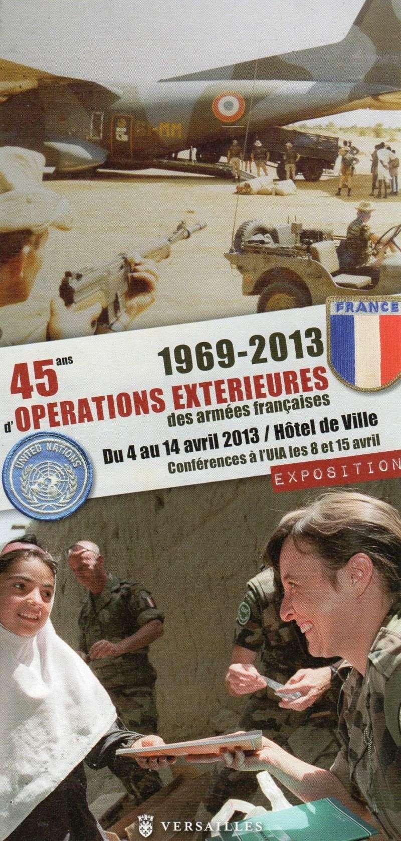 expo de sur l'OPEX à la mairie de Versailles Expo0511